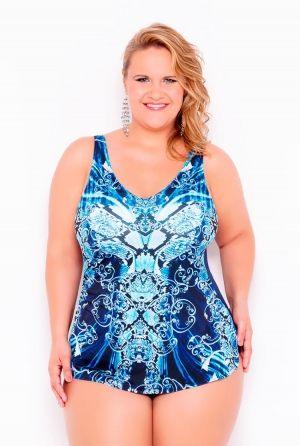 Слитный купальник-платье BAHAMA - 402511