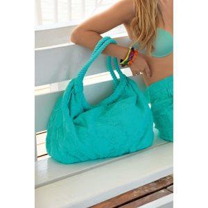 вязаная Пляжная сумка Iconique (Italy), 100% хлопок