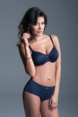 Трусы шорты Lisca - Lorella - женские Трусы шорты-брифы с широким бочком темно синий
