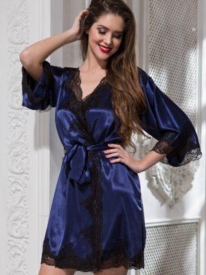 темно-синий Халат кимоно MIA-AMORE - Isabella