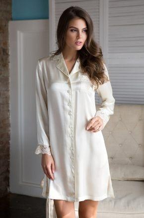 Сорочка рубашка MIA-MIA - Kristy, 100% шелк