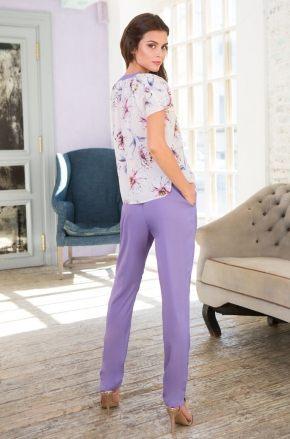 Комплект MIA-MIA - Floriana: блуза + брюки