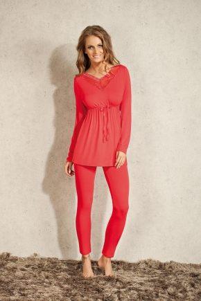 Пижама Lisca - VERONIQUE: туника + брюки