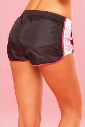 Трусы-шорты спортивные Pink Lipstick