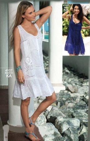 Пляжное платье ICONIQUE 107, 100% хлопок