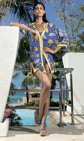 Пляжная туника-блуза  DAVID - CAMICIONE