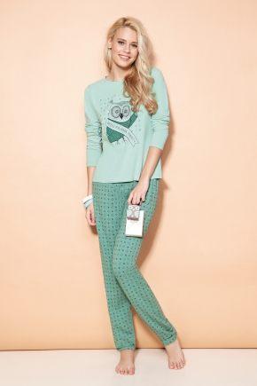 Пижама MISS WITTY: брюки + кофта