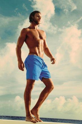 Пляжные шорты DAVID - DM7-001, zaffiro