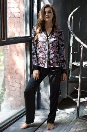 Пижама MIA-MIA - SHARLOTTA: жакет + брюки
