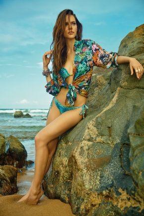 Пляжная туника рубашка Maryssil - CORALO