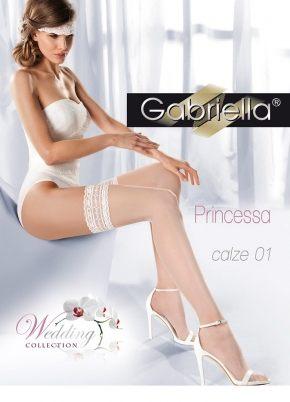 Чулки GABRIELLA - Princessa 01, 20 DEN