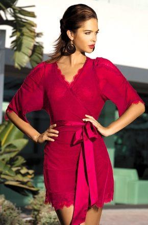 Халат кимоно Mia Mia - LADY IN RED