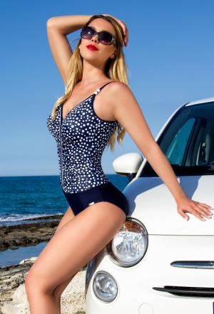модный красивый Слитный купальник plus-size BAHAMA 420712 купить