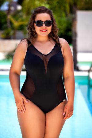 модный слитный Сплошной купальник plus-size Bahama 5001127 купить