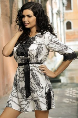 Шелковая женская сорочка-туника  Mia-Mia