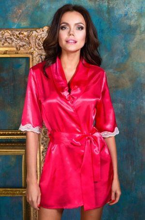 яркий Розовый Халат кимоно  MIA-MIA - Crystal  купить в подарок девушке