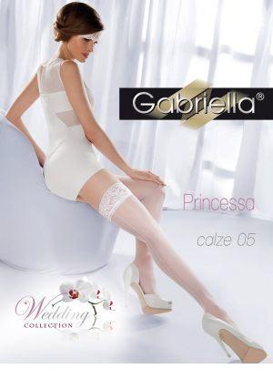 белые Чулки GABRIELLA - Princessa 05, 20 den