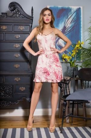 Ночная сорочка-платье MIA-MIA Iris 19120 в магазине Flirt-Time.ru