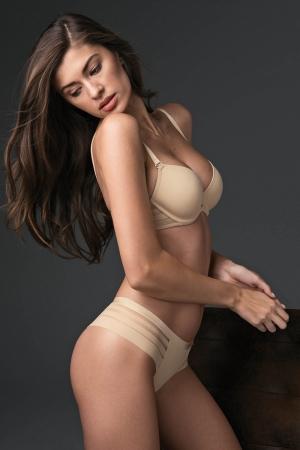 базовые телесные Трусы бразилиана Lisca - ALEGRA купить в магазине флирт тайм
