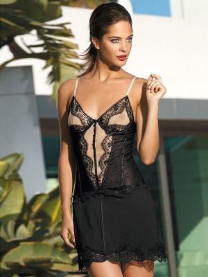 красивая кружевная Сорочка на бретелях MIA-MIA - Elegance