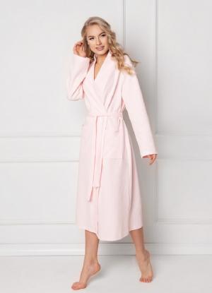 Женский банный халат Aruelle - MARSHMALLOW PINK – купить в подарок девушке