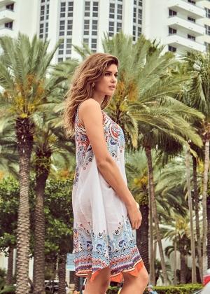 белое пляжное платье давид италия, купить пляжный сарафан флирт тайм