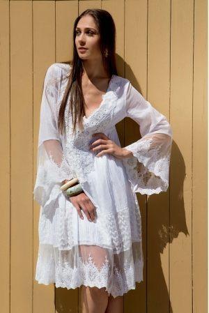 люксовое Пляжное платье ICONIQUE - GLAM, 100% хлопок