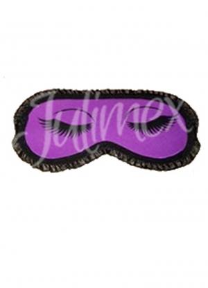 фиолетовая сиреневая Маска для сна JULIMEX - OP-08 купить