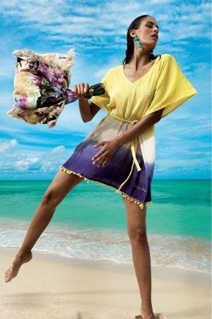 джинсовая Пляжная сумка Vacanze Italiane -  MALIBU