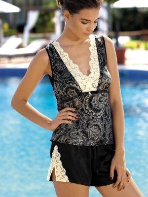 итальянская женская пижама Пижама Lorenza: шорты  + шорты