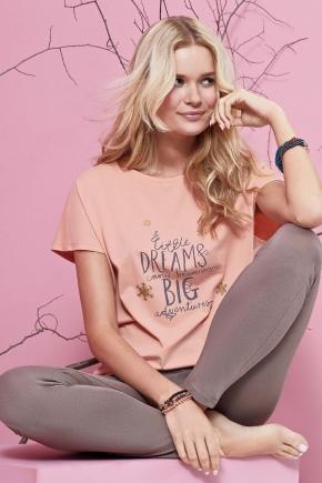 Пижама CANDY: леггинсы + футболка