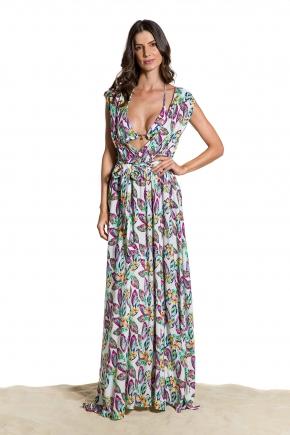 Пляжное платье-туника Maryssil - LUX FLORA
