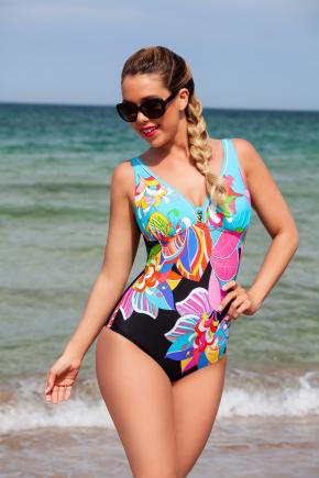 Сплошной купальник plus-size Bahama 502013