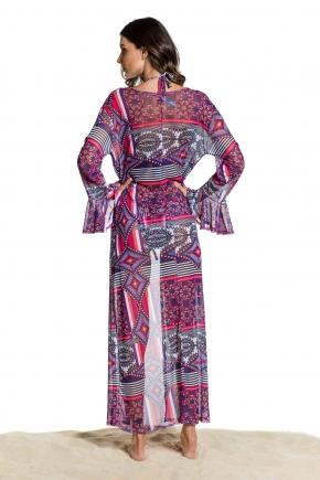 Пляжная блуза макси Maryssil - MAXI GEO