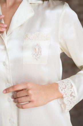 Рубашка домашняя MIA-MIA - Kristy, 100% шелк