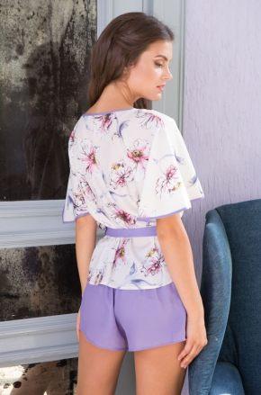 Пижама MIA-MIA - Floriana: топ + шорты