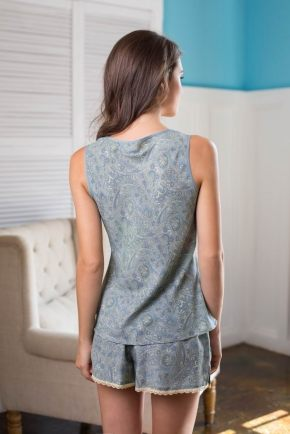 Комплект MIA-MIA - Olivia: топ + шорты