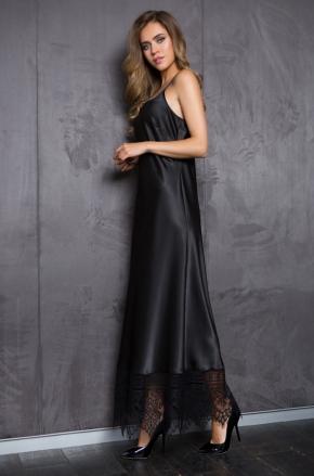 Платье макси на бретелях Mia-Mia - EVELINE
