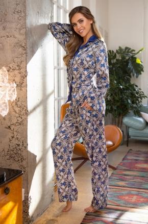 Комплект Mia-Mia - MELANIA: блуза + брюки