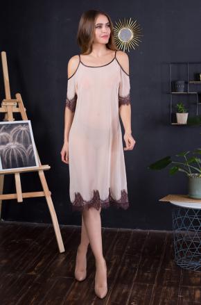 Платье домашнее с рукавами Mia-Mia - INESSA