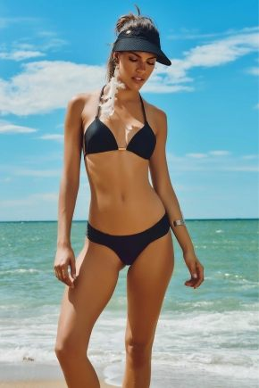 Козырек пляжный Maryssil - LISA BLACK