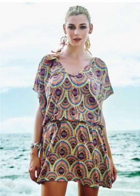 Пляжное платье мини Maryssil - SAHARA