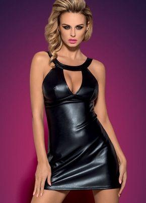 Платье кожаное Obsessive - DARKSY + стринги