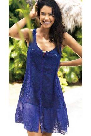 Пляжное платье David - ICONIQUE, 100% хлопок