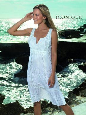 Пляжное платье 108 ICONIQUE, 100% хлопок