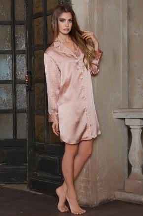 Сорочка-рубашка MIA-MIA - AGATA, 100% шелк