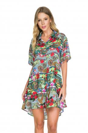 Пляжная блуза мини Maryssil - BONITA