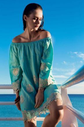 Пляжное платье  Vacanze - CHARMING, 100% лён