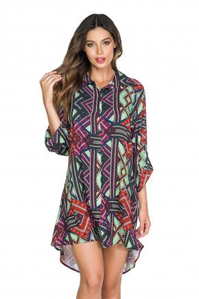 Пляжная рубашка Maryssil - LUX GEOMETRIA