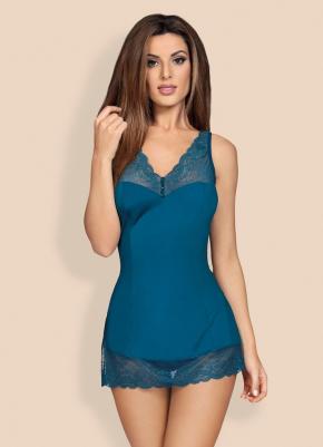 Сорочка Obsessive - MIAMOR + стринги, 3 цвета